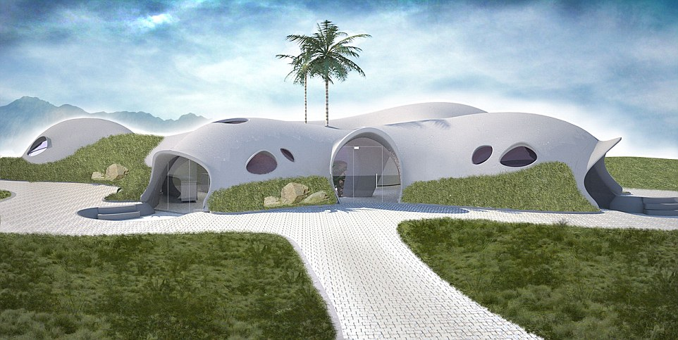 Binishells: Inflatable, Dome Shaped Concrete Homes   01 Aug 2014 Amazing Pictures