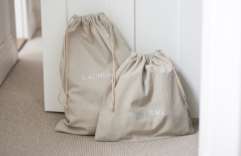 Black Cotton Laundry Bag: Quality Hotel Bags For Every Guest Requirement…