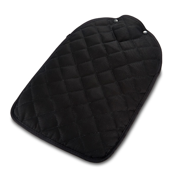 Black Quilted Hot Water Bottle Cover : quilted hot water bottle cover - Adamdwight.com