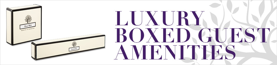 Luxury Boxed Guest Amenities