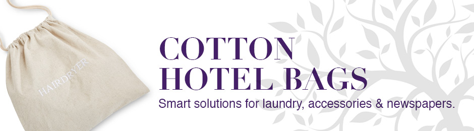 Cotton Hotel Bags - Laundry Bags